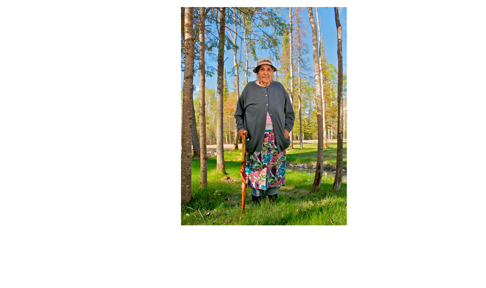 Ojibwa Elder / MN Department of Natural Resouces