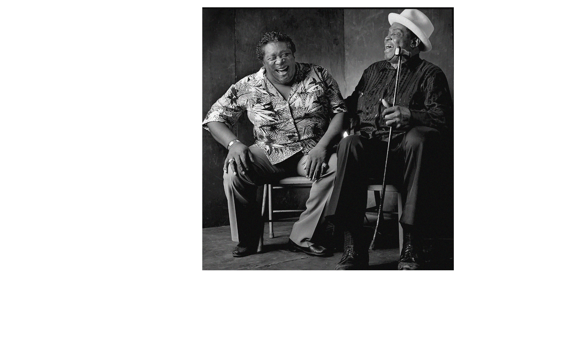 Blues greats B.B. King / Willie Dixon